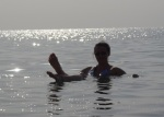Bobbing around in the Dead Sea