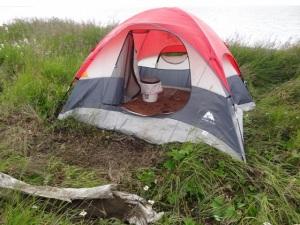 The Toilet Tent!
