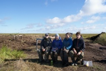 The last students standing - Jacqui, Lindsey, Jessie, Andrius