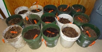 Dirt buckets