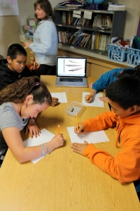 6th graders writing