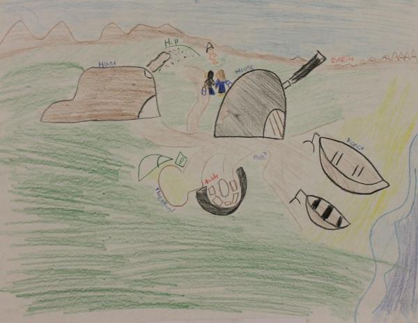 Marita's artwork