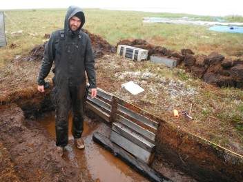 Thursday evening: defeated by permafrost